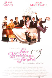 Four Weddings and A Funeral The Movie