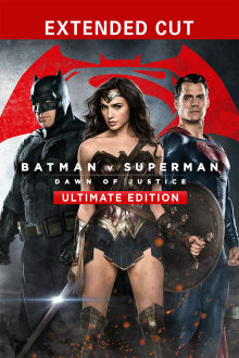 Batman v Superman: Dawn of Justice (Ultimate Edition) SD The Movie