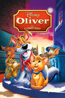 Oliver & Company The Movie