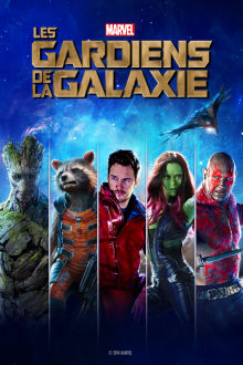 Les gardiens de la galaxie The Movie