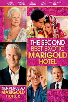 The Second Best Exotic Marigold Hotel The Movie