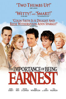 Importance of Being Earnest The Movie
