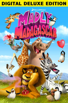 Dreamworks Madly Madagascar Digital Deluxe Edition The Movie