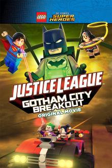 Lego DC Comics Superheroes: Justice League - Gotham City Breakout The Movie
