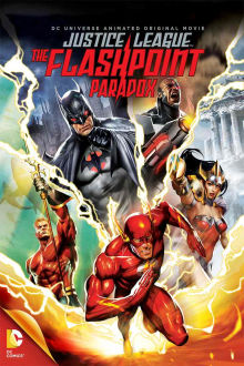 DCU: Justice League: The Flashpoint Paradox The Movie