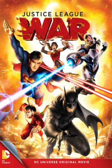 Justice League: War The Movie
