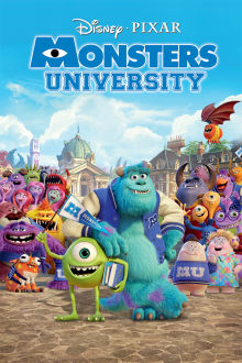 Monsters University The Movie