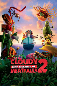 Cloudy With a Chance of Meatballs 2 The Movie