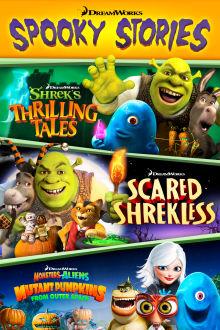 Dreamworks Spooky Stories The Movie