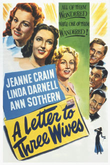 Letter to Three Wives The Movie