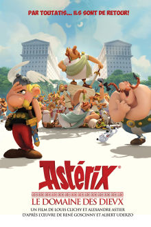 Astérix: Le domaine des dieux - Entrevue ... The Movie