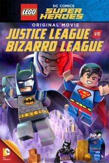 Lego DC Justice League: Justice League vs. Bizarro League The Movie