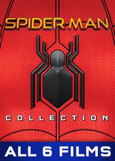 Spider-Man 6 Film Collection SD The Movie