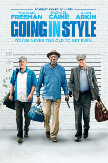 Going in Style SuperTicket poster art
