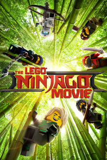 The Lego Ninjago Movie SuperTicket poster art
