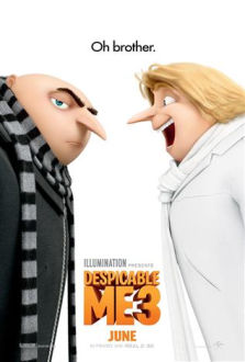 Despicable Me 3 SuperTicket poster art