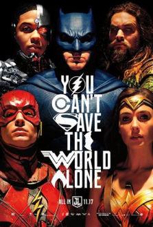 Justice League SuperTicket poster art
