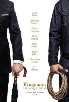 Kingsman The Golden Circle SuperTicket poster art