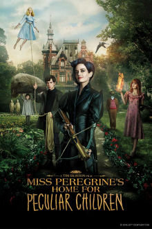 Miss Peregrines Home For Peculiar Children SuperTicket poster art