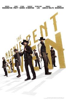 The Magnificent Seven SuperTicket poster art