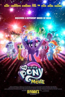 My Little Pony The Movie SuperTicket poster art