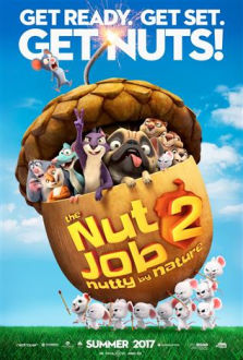 The Nut Job 2 Nutty by Nature SuperTicket poster art