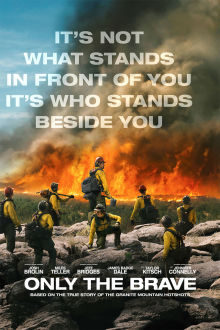 Only The Brave SuperTicket poster art