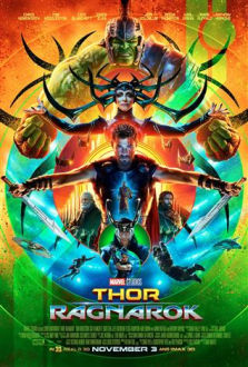 Thor Ragnarok SuperTicket poster art
