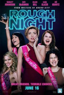 Rough Night SuperTicket poster art