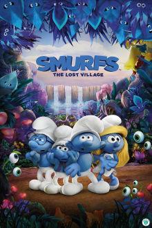 Smurfs The Lost Village SuperTicket poster art