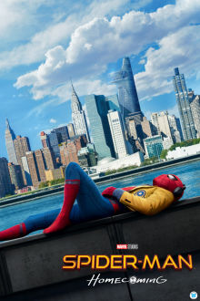 SpiderMan Homecoming SuperTicket poster art