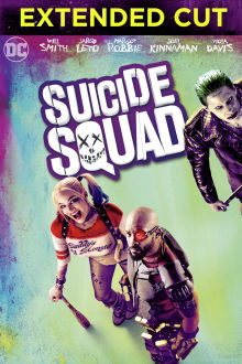 Suicide Squad (Extended Cut) The Movie