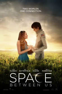 The Space Between Us SuperTicket poster art