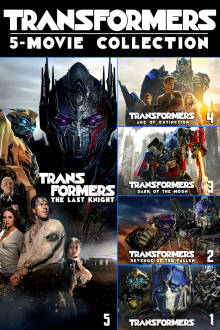 Transformers 5-Movie Collection HD The Movie