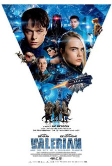 Valerian and the City of a Thousand Planets SuperTicket poster art