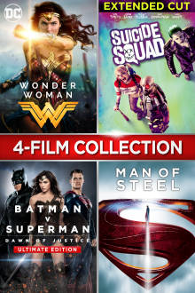 DC 4-Film Collection HD The Movie