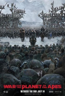 War for the Planet of the Apes SuperTicket poster art