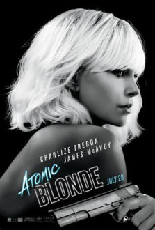 Atomic Blonde SuperTicket poster art