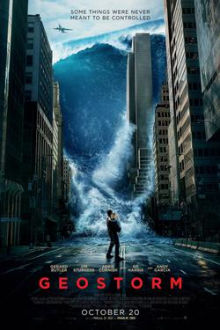 Geostorm SuperTicket poster art