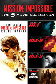Mission: Impossible The 5 Movie Collection HD The Movie