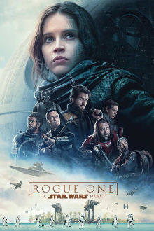 Rogue One A Star Wars Story SuperTicket poster art