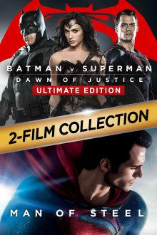 Batman v Superman: Dawn Of Justice (Ultimate Man Of Steel Edition) The Movie