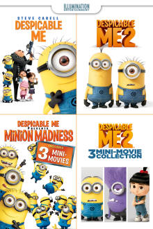 Despicable Me Collection HD The Movie