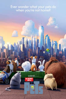 The Secret Life Of Pets SuperTicket The Movie