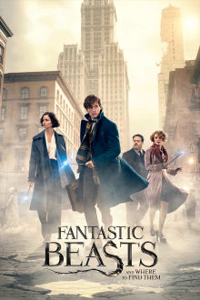 Fantastic Beasts and Where to Find Them SuperTicket poster art