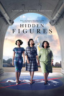 Hidden Figures SuperTicket poster art