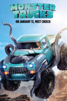 Monster Trucks SuperTicket poster art