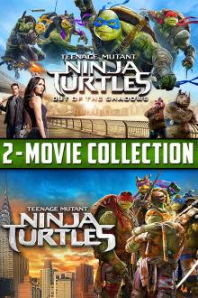 Teenage Mutant Ninja Turtles 2-Movie Collection SD The Movie