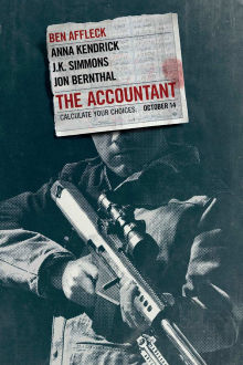 The Accountant SuperTicket poster art