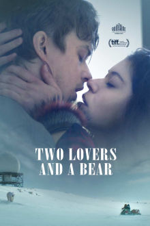 Two Lovers and a Bear SuperTicket poster art